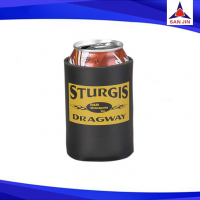 Neoprene can koozie with bottom