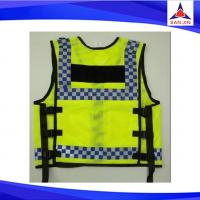 Factory made design reflective tape safe vest nylon safe vest for protection