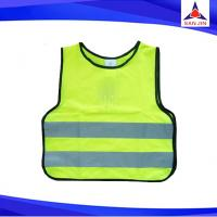 Wholesale Sleeveless Fluorescent Yellow High Visibility Safety Vest