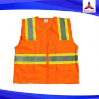 High Visibility Reflective Vest road safety vest with yellow or orange colour
