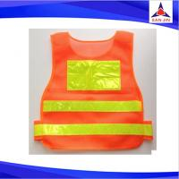OEM/ODM reflective nylon safety vest jacket