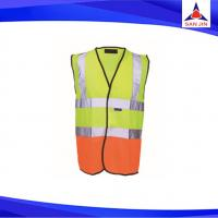 High quality black Orange safety vest manufacturer