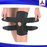 Adjustable neoprene knee strap sports safety support injury prevention
