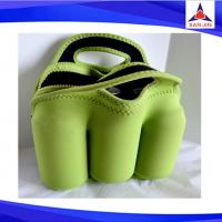 Neoprene 6 Pack Can Cooler Bag, Beer Tote Bag