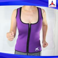 new design waist training burn fat body shaper slimming vest neoprene fitness vest bra body shaper