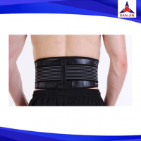 For Men Neoprene back support with double comperession elstaic pull strap
