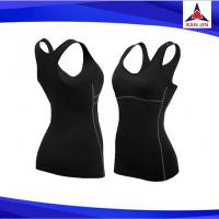 hot sale neoprene body building shirt fitness slimming suit slimming vests weight lose