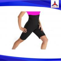 Custom High waist fitness shorts neoprene yoga slimming pants for women