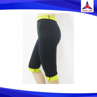 Neoprene 3/4 hot shaper pants  weight loss cut size