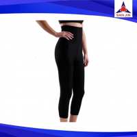 Balck high waist slim tummy long pants neoprene material weight loss