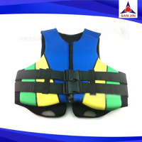 Neoprene material water swim vest life jacket