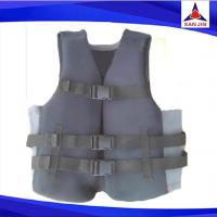 includes three adjustable belts ensuring life jacket  vest fits securely regardless of the application